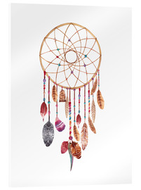 Akrylglastavla  Dream catcher - Nory Glory Prints