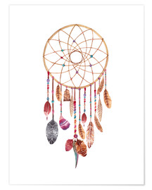 Poster  Dream catcher - Nory Glory Prints