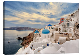 Canvastavla  View of Oia, Santorini - Stefan Becker