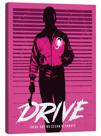 Canvastavla  Drive Ryan Gosling - Golden Planet Prints