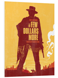 PVC-tavla  For a few dollars more western movie inspired - Golden Planet Prints