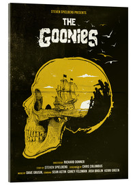 Akrylglastavla  The Goonies - Golden Planet Prints