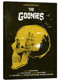 Canvastavla  The Goonies - Golden Planet Prints