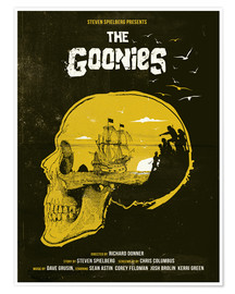 Poster  The Goonies - Golden Planet Prints