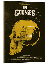 Trätavla  The Goonies - Golden Planet Prints
