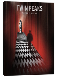 Canvastavla  Twin Peaks, firewalk with me - Golden Planet Prints