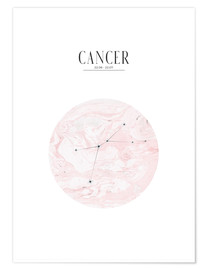 Premiumposter  CANCER | CANCER - Stephanie Wünsche