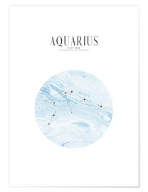 Premiumposter  AQUARIUS | WASSERMANN - Stephanie Wünsche