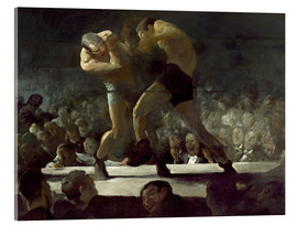 Akrylglastavla  Club Night - George Wesley Bellows