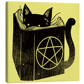 Canvastavla  Witchcraft Cat - Tobe Fonseca