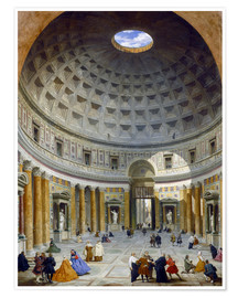 Premiumposter Interior of the Pantheon