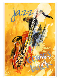 Premiumposter Jazz comes back