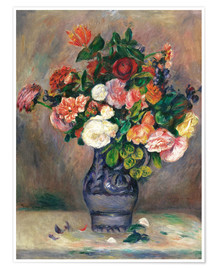 Premiumposter flowers in a vase