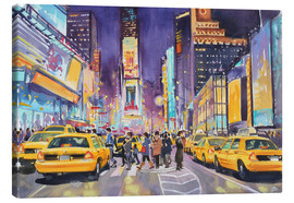 Canvastavla  Times Square at night - Paul Simmons