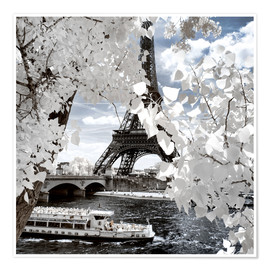 Premiumposter  Infrared Shipping in Paris - Philippe HUGONNARD