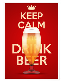Premiumposter  Keep Calm And Drink Beer
