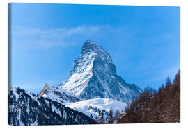 Canvastavla  The Matterhorn, Switzerland