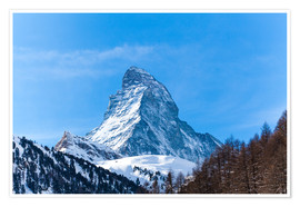 Premiumposter  The Matterhorn, Switzerland