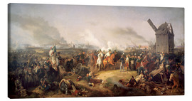 Canvastavla  The Battle of Nations, Leipzig 1813 - Peter von Hess