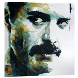 Akrylglastavla  Freddie Mercury - Paul Lovering Arts