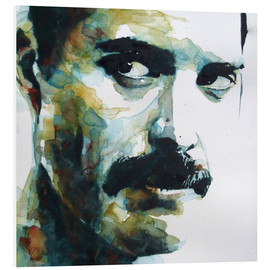 PVC-tavla  Freddie Mercury - Paul Lovering