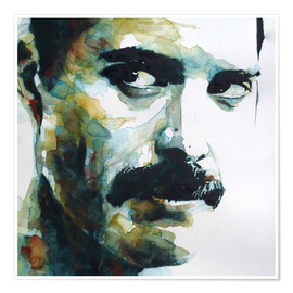Premiumposter  Freddie Mercury - Paul Lovering