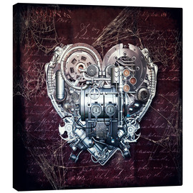 Canvastavla  Old love does not rust - diuno