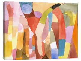 Canvastavla  Movement of Vaulted Chambers - Paul Klee