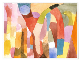 Premiumposter  Movement of Vaulted Chambers - Paul Klee