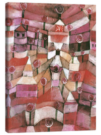 Canvastavla  Rose garden - Paul Klee