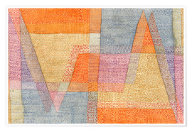 Premiumposter  Light and Sharpness - Paul Klee