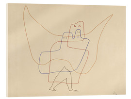 Akrylglastavla  Angels Shut - Paul Klee
