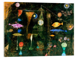 Akrylglastavla  Fish magic - Paul Klee