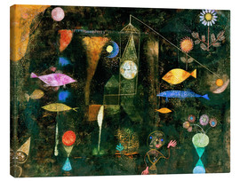 Canvastavla  Fish magic - Paul Klee