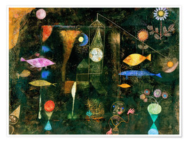 Premiumposter  Fish magic - Paul Klee