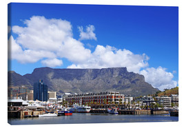 Canvastavla  Lovely Cape Town, South Africa - wiw