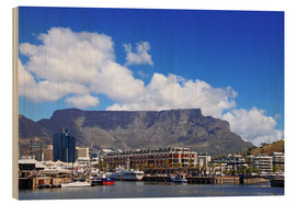 Trätavla  Lovely Cape Town, South Africa - wiw