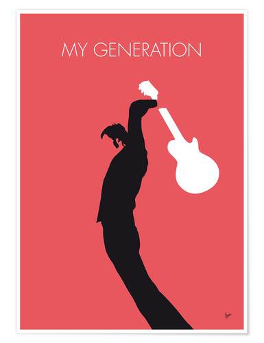 Premiumposter The Who, My Generation