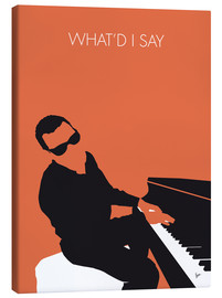Canvastavla  Ray Charles - What'd I Say - chungkong