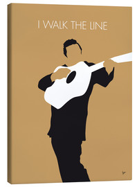 Canvastavla  Johnny Cash, I walk the line - chungkong