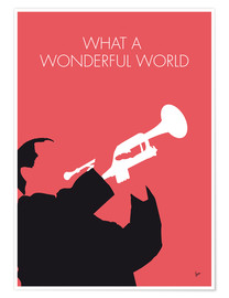Premiumposter Louis Armstrong - What A Wonderful World