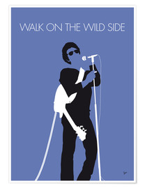 Premiumposter Lou Reed - Walk On The Wild Side