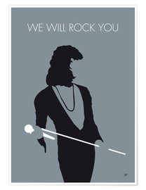 Premiumposter Queen, We will rock you
