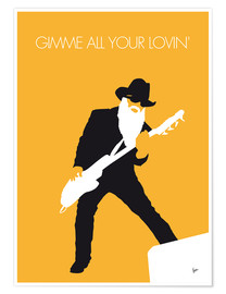 Premiumposter ZZ Top - Gimme All Your Lovin'