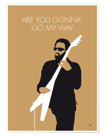 Premiumposter Lenny Kravitz - Are You Gonna Go My Way