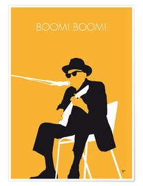 Premiumposter Johnny Lee Hooker - Boom! Boom!