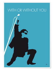 Premiumposter With or without you - U2