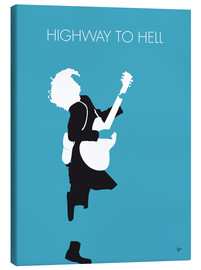 Canvastavla  Highway to hell - ACDC - chungkong