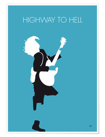 Premiumposter Highway to hell - ACDC