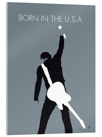 Akrylglastavla  Bruce Springsteen - Born In The U.S.A. - chungkong